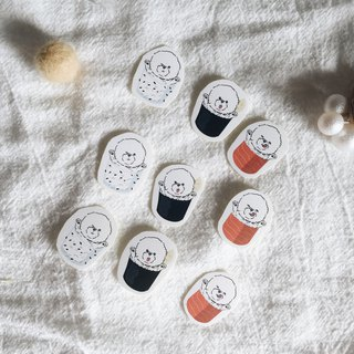 Bichon - Grips sushi rolls - Delicious and tasty stickers