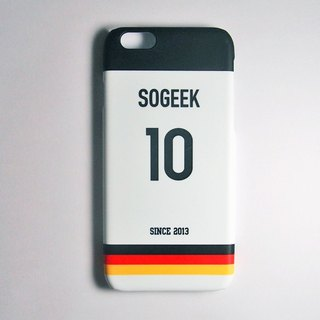 SO GEEK phone shell design brand THE JERSEY GEEK jersey back number custom made 052