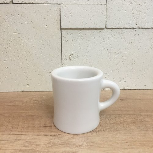 Double chubby cup (pure white)