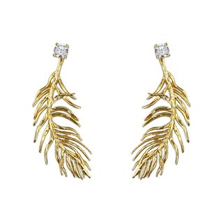 Angel feathers Pleasure earrings