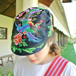 Chinese hand stitched cap