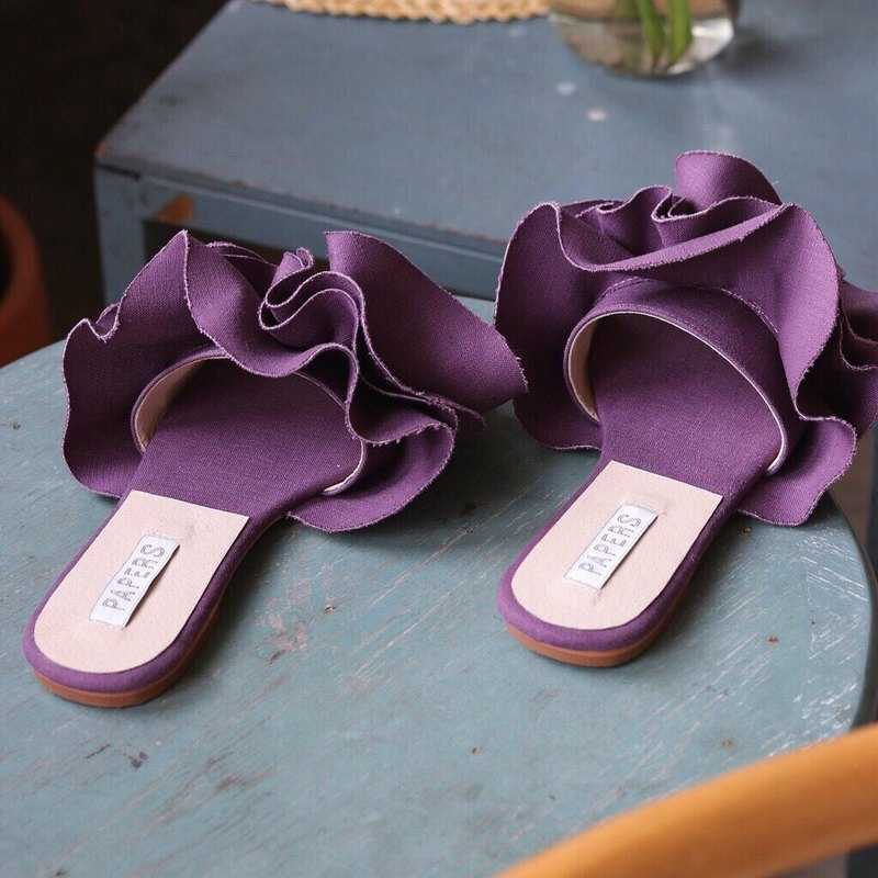 Blooming Carnation Sandals (purple)