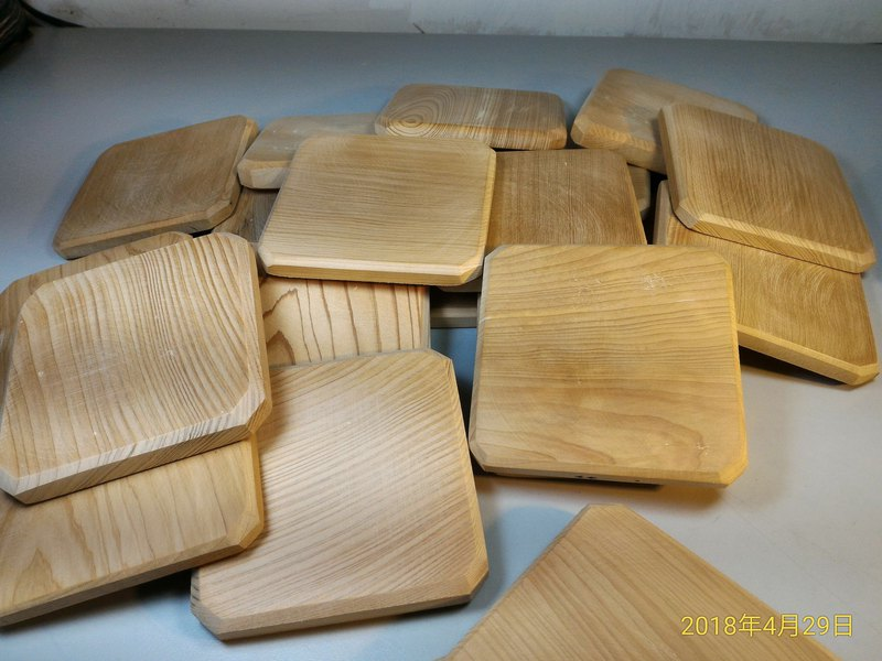 ~ Old New Material ~ Taiwan Elm Coaster