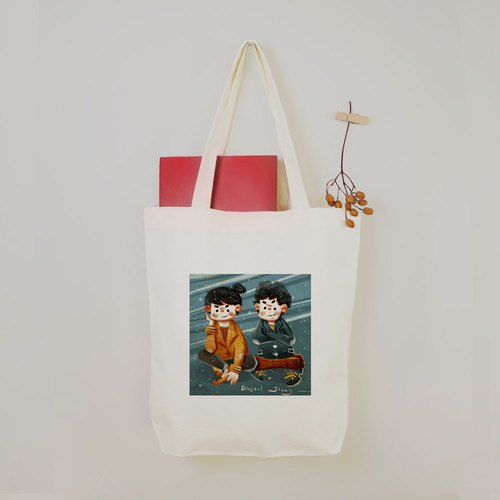 [Ginger biscuits] Cool concept Tote bag