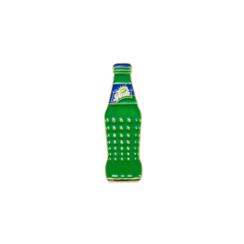 Sprite Vintage Bottle Pin