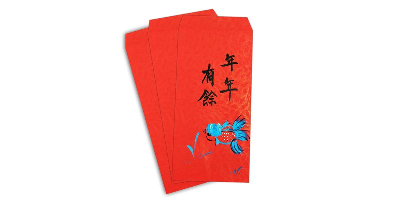 DH has more than a Chinese New Year red envelope / red bag (5 into)