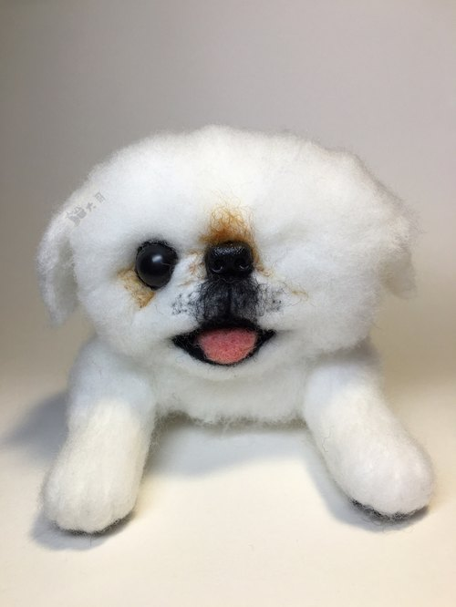 ☆ ☆ dog wool felt realistic (customized)