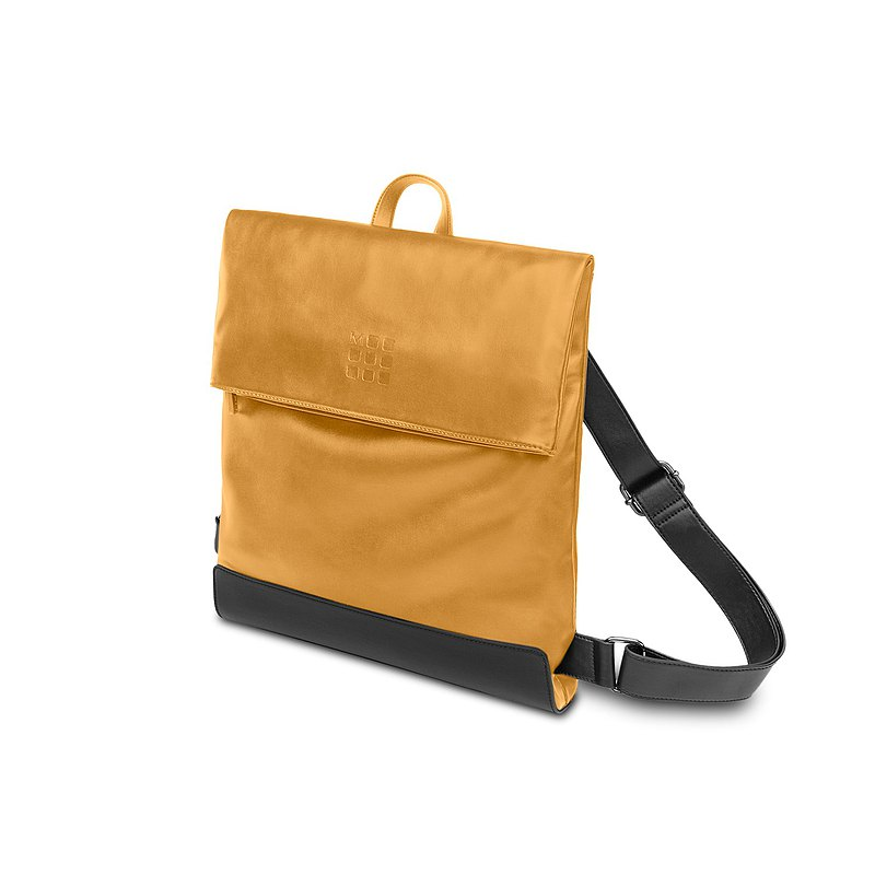 FOLDOVER Foldable Backpack-Mustard Yellow