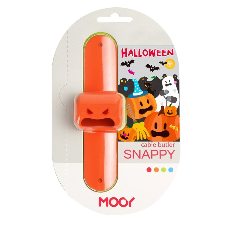 Snappy earphone butler-Orange(Halloween)#PinkoiENcontent