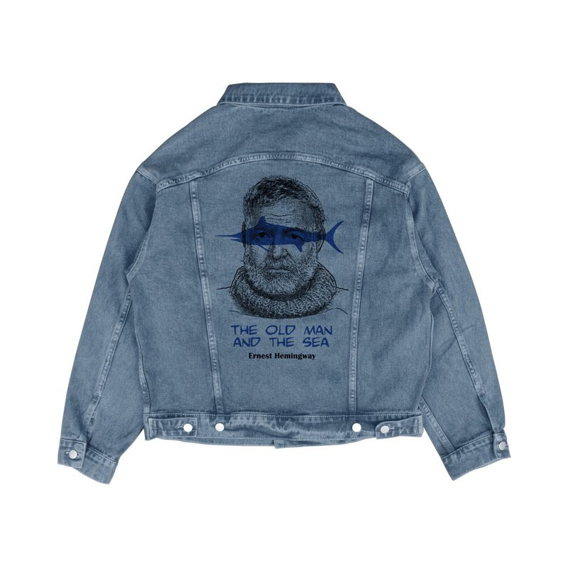 The Old Man And The Sea/Hemingway/AMO/Denim Jacket