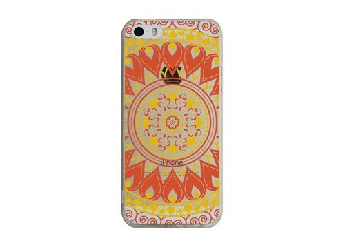 Custom Mandala Transparent iPhone X 8 7 6s Plus 5s Samsung note S7 S8 S9 plus HTC LG Sony Mobile Shell Mobile Phone Cases