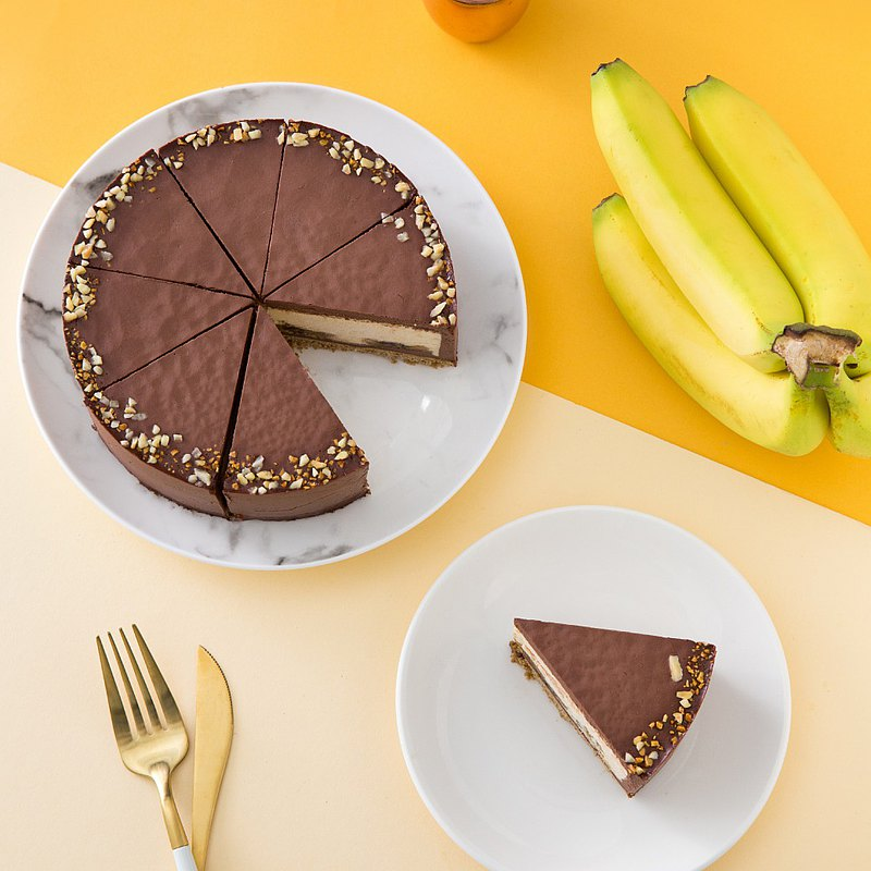 Belle's Banana Cheesecake