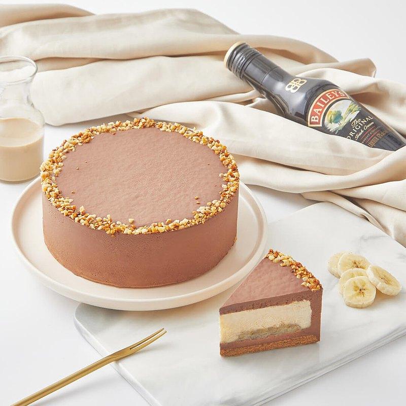貝禮詩香蕉生巧乳酪蛋糕