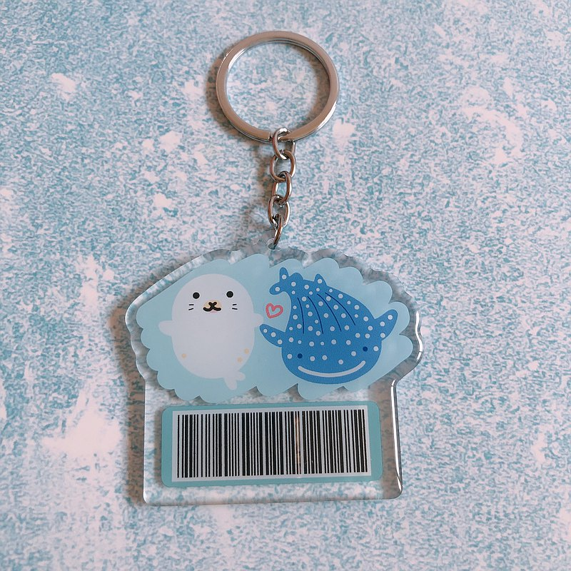 Seal whale shark invoice vehicle key ring takes 90 days to make