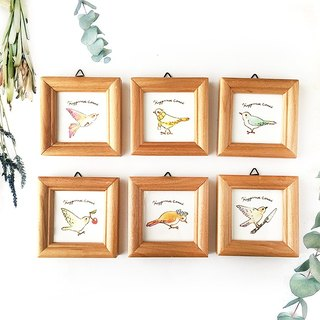 "illustration frame ""Happiness Bird""【番号を選んで下さい】"