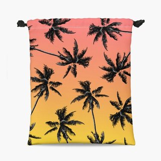 Drawstring Pouch - Palms