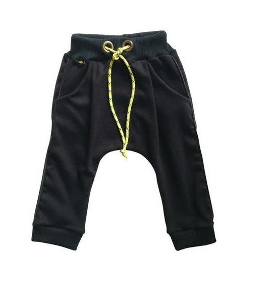 Black baby sport trousers