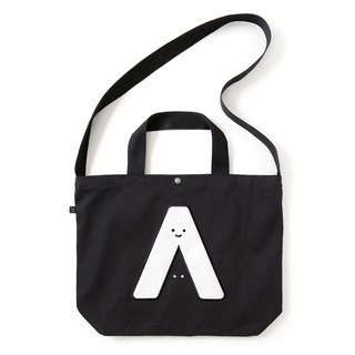I am here. Slantback hand bag / thick cotton