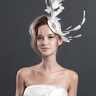 TIARA* Feather Handcrafted Handcrafted Headdress / Sally F.Li High Order / European and American Gala Dinner Dresses Wedding/Self-Wedding Wedding gown / Custom Wedding Dresses-Valentine Gift Boxes Customized