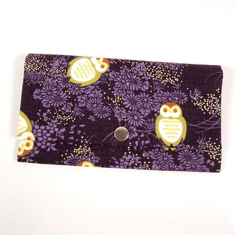 Red envelopes bankbook pocket - Night Owl (purple)