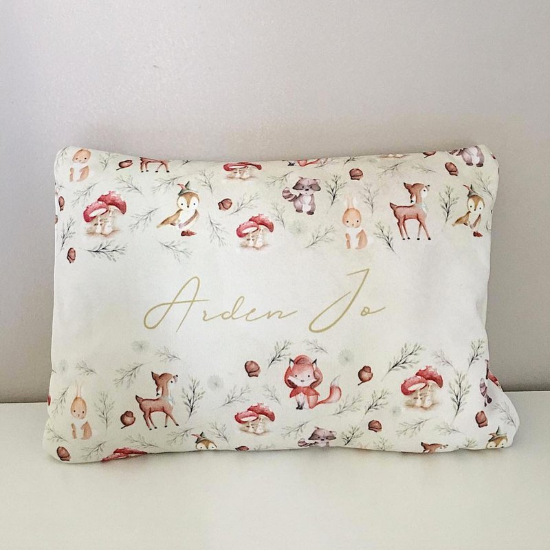 Woodland Baby Bolster and Pillow Gift Set