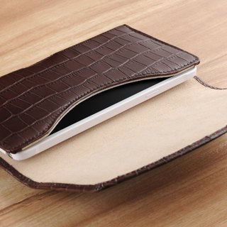 STORYLEATHER made (APPLE iPhone series) Style W1 horizontal hem custom leather