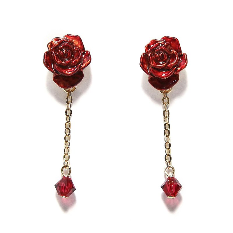 Rose Garden Rose Garden Earrings PA 474