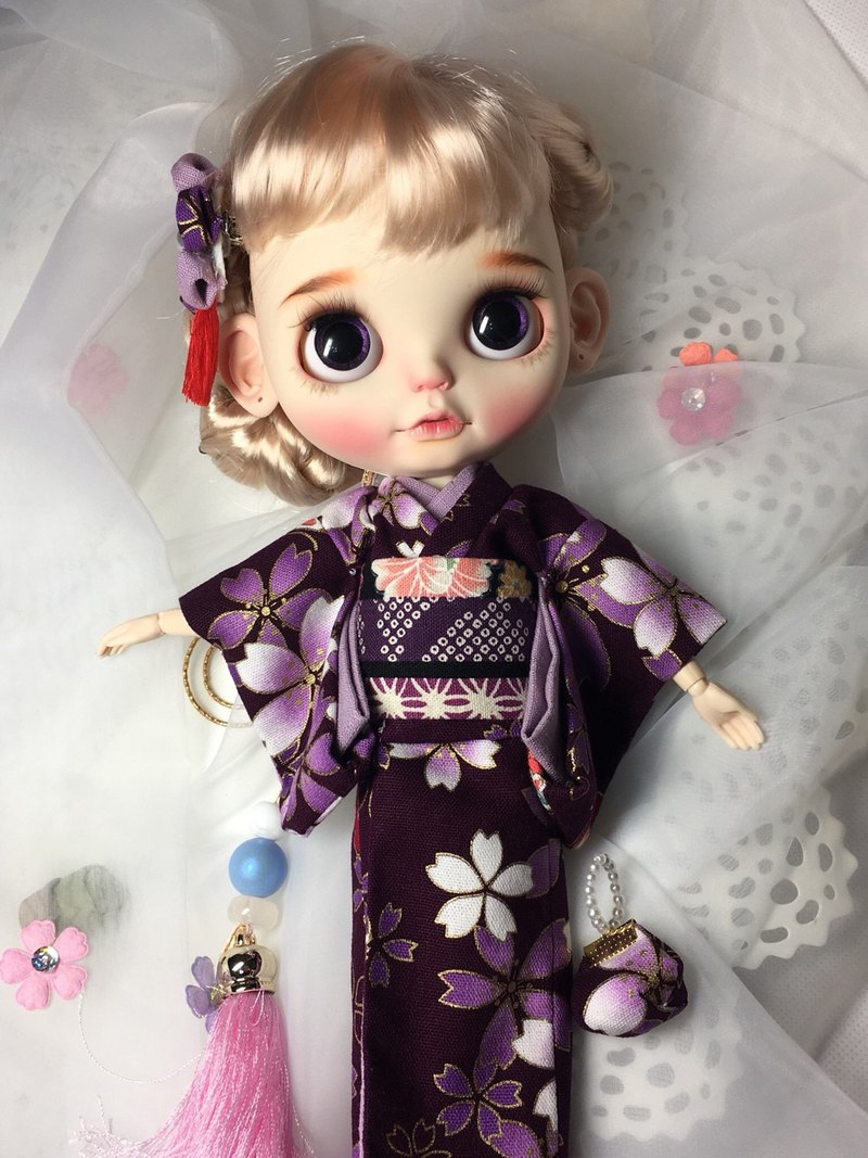 Blythe doll doll bathrobe clothes