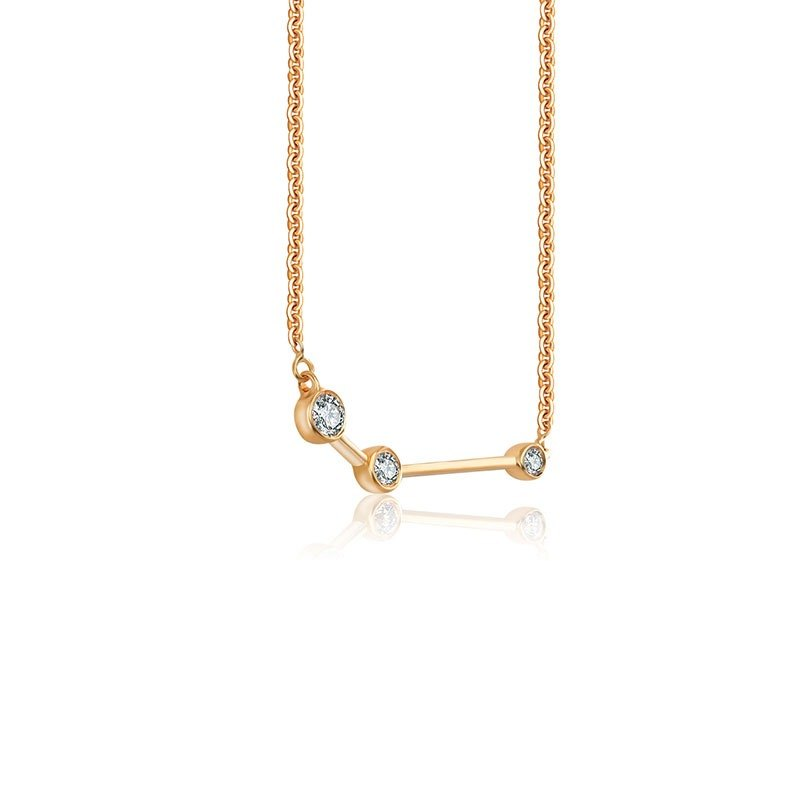 Aries Diamond Necklace