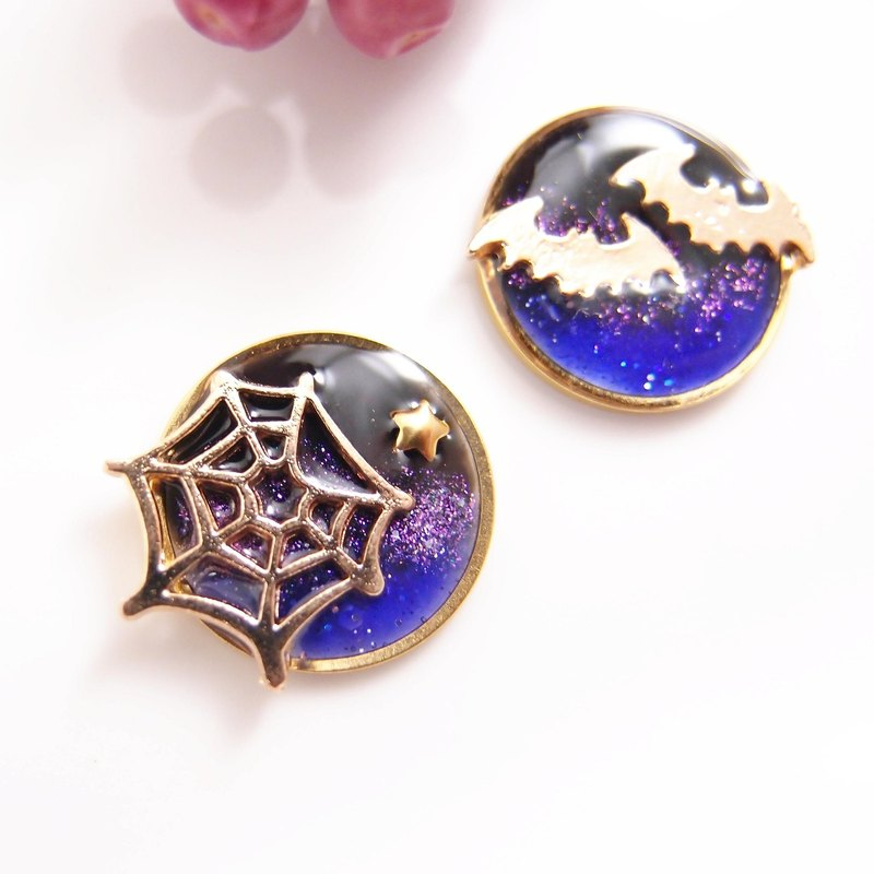 Trick or treat without giving sugar - no pain U-shaped ear clip stainless steel ear pin silicone ear