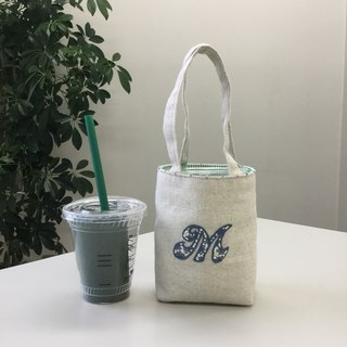 Cafe bag initials M Minitoto