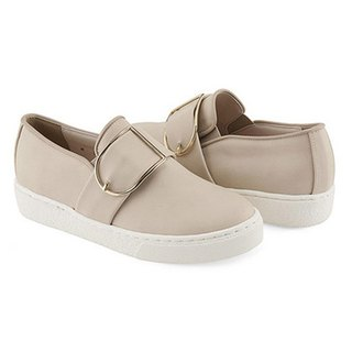 PRE-ORDER – CLLIB ZENN_FRAME BUCKLE SLIP ON MS4379 BEIGE