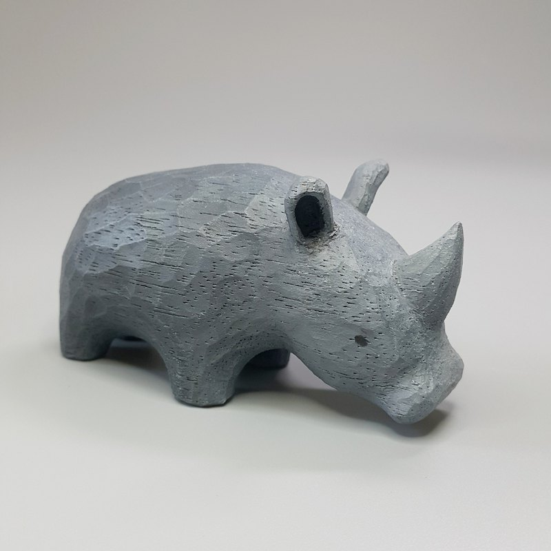Rhinoceros (woodcarving artwork)