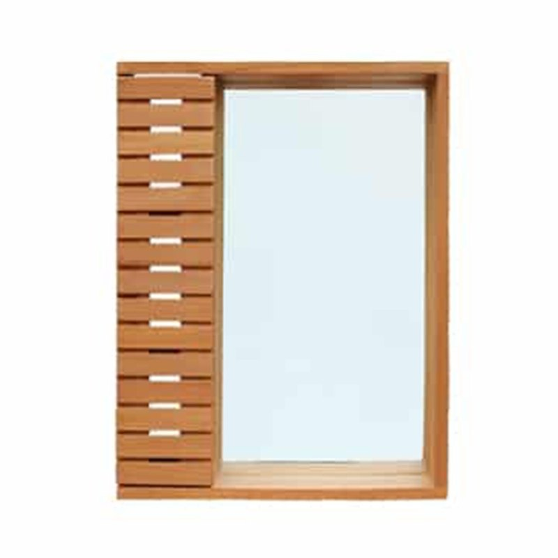Mantis 1 mirror cabinet Mirror with shelves