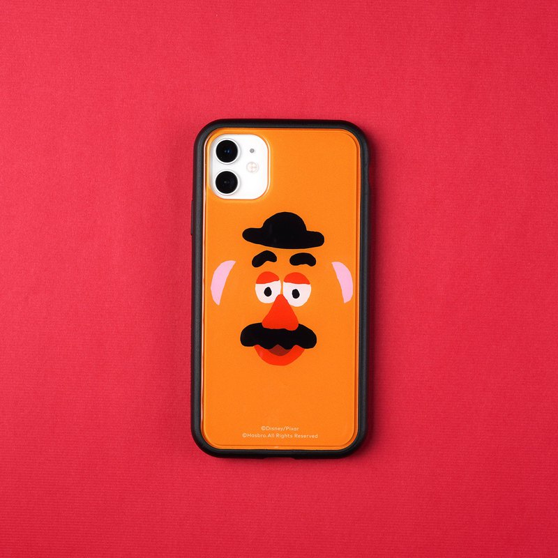 Mod NX Frame Back Cover Dual Purpose Phone Case / Toy Story-Big Face Mr iPhone