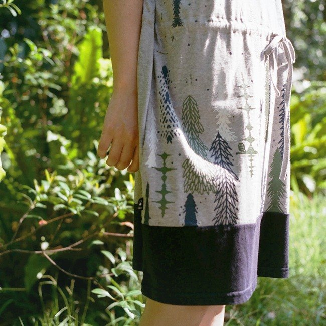 Urb. Yamato Sonic / Drawstring Pocket Dress