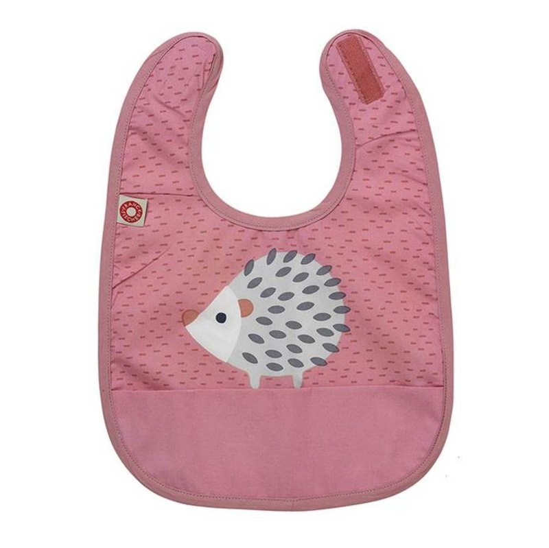 Franck and Fischer Pink Hedgehog Children's Bib