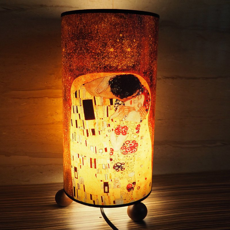 JB Design-Wen Chuang Muzhu cylinder table lamp - kiss