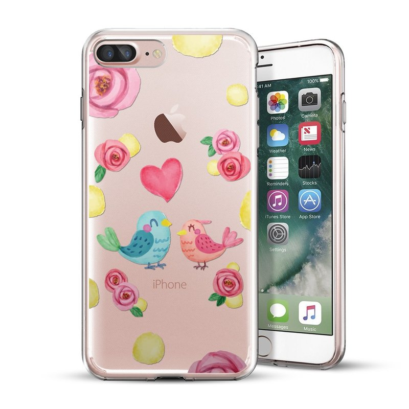AppleWork iPhone 6/7/8 Plus Original Design Case - Bird CHIP-059