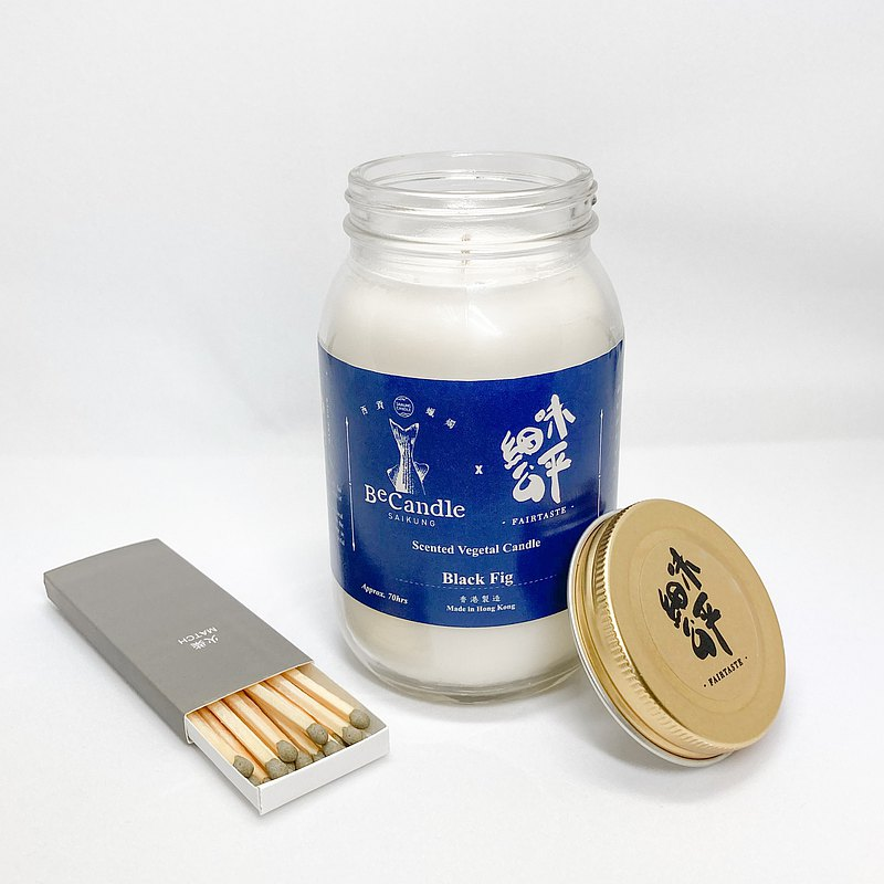 Fine Fair X BeCandle Handmade Candle - Fig Aroma (300g)