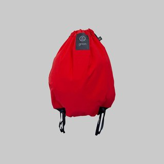 grion waterproof bag - back section (L) Red