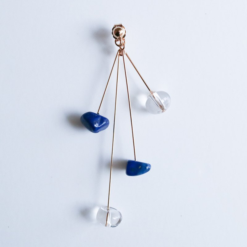 【PINKOI EXCLUSIVE】DROP Pierce THREE LIMITED BLUE