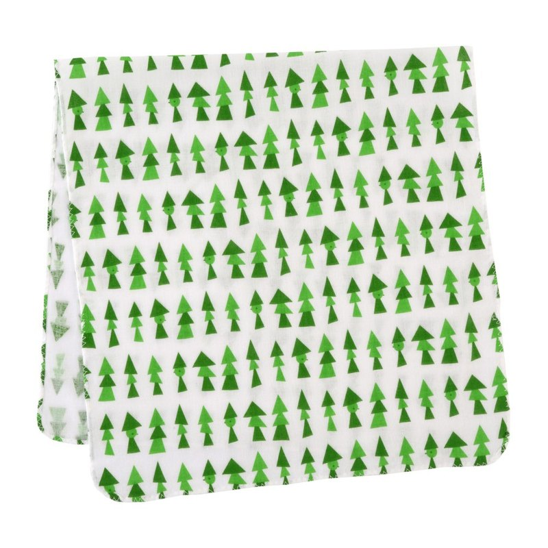 D BY DADWAY Japanese Towel - Green Forest
