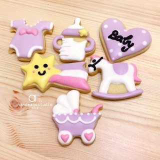 *Cute*Mini Purple baby saliva sugar cookie income group (the 6) by anPastry