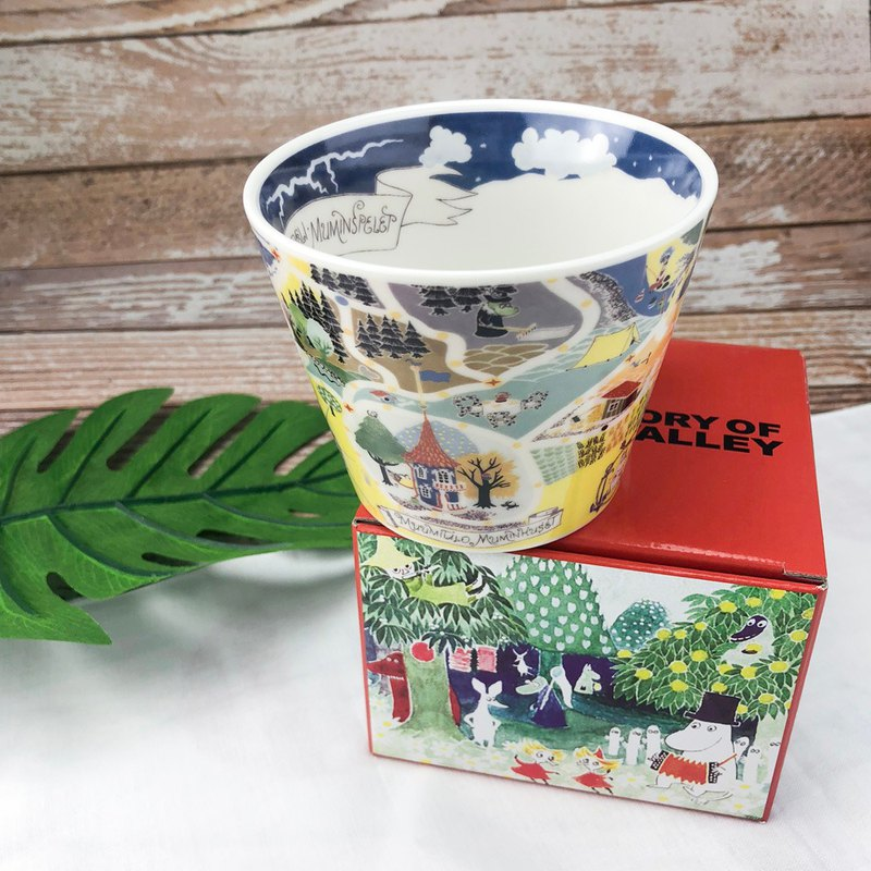 Moomin glutinous rice - wide mouth soup cup (map)