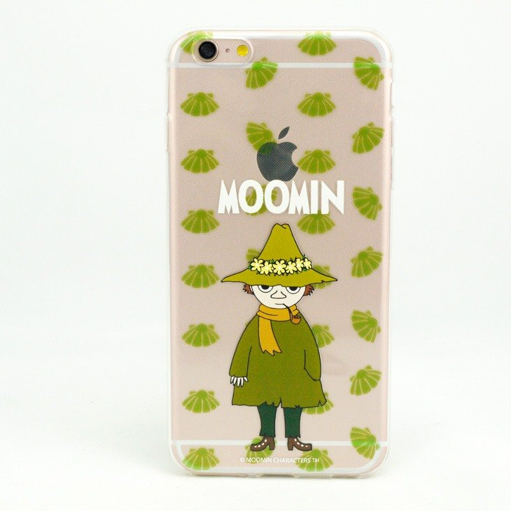 Moomin glutinous rice genuine license - TPU mobile phone protective case - [Ajin]