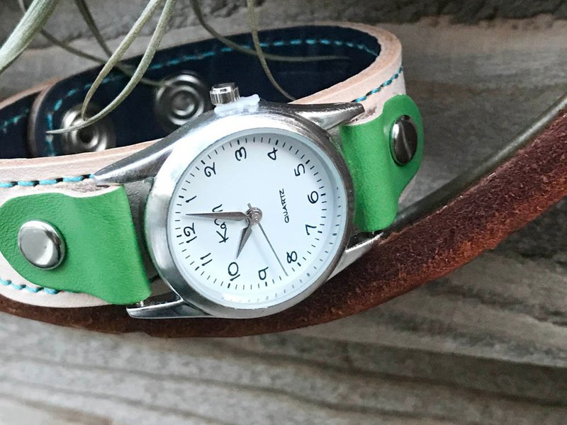STITCH Fresh green stitch run watch unisex SRW-WNG-TS