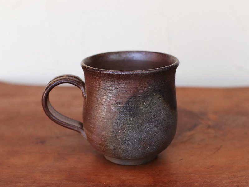 Bizen ware coffee cup (large) c8-068