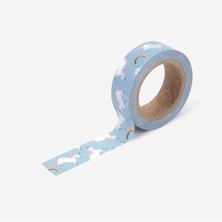 Dailylike single roll of paper tape -112 Unicorn, E2D03947