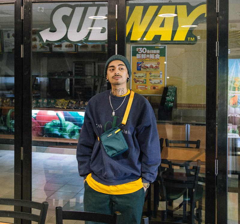 【Fumble】SUMBLE | GREEN | Fast Food Series | Shoulder Bag | Original Design | SBG